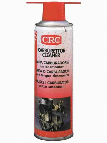 CRC Carburettor Cleaner - Detergente per Carburatori e Cilindri Alettati - Aerosol 300ml - A0402