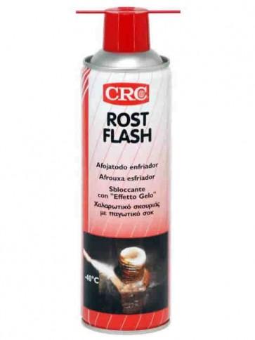 """CRC Rost Flash - Sbloccante con effetto """"gelo"""", frantuma la ruggine - Aerosol 500ml - C9011"""