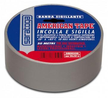 Saratoga Nastro American Tape Grigio 50Mt x 50mm 63050001