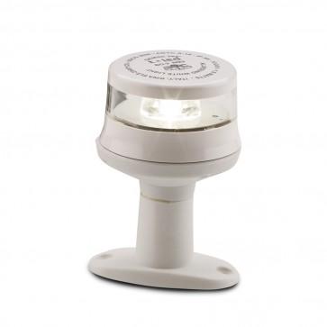 Trem Fanale al LED 360° con Basetta - Bianco - L7474360