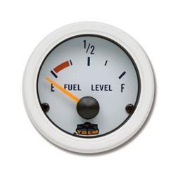 Trem Indicatore Carburante 240-33 Ohms 12V Sistema di montaggio a vite - Bianco - L3274656