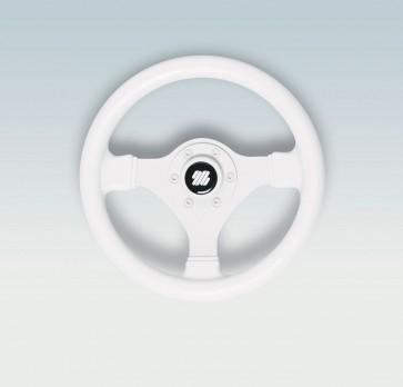Ultraflex Volante Bianco con Impugnatura Morbida V45W - Ø Diametro 280mm - 38049P