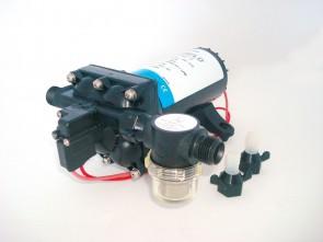SHURflo Pompa Aqua King II Premium - 4.0 GPM (15,1 l/min), 55 PSI (3,8 Bar), 12V DC - 4148-153-E75
